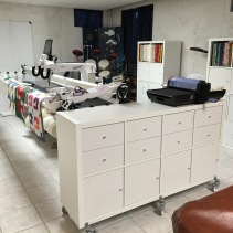 Fabric Storage and Die Cut Cart